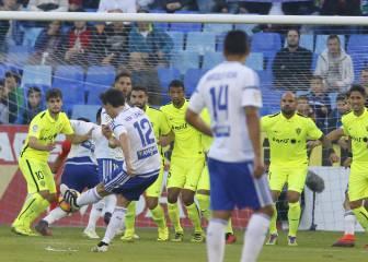 Lanzarote ha participado en 11 de los 17 goles del Zaragoza