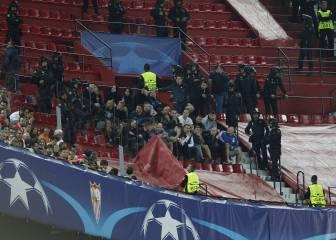 Los 12 hinchas del Dinamo detenidos en Málaga y Sevilla, en libertad provisional