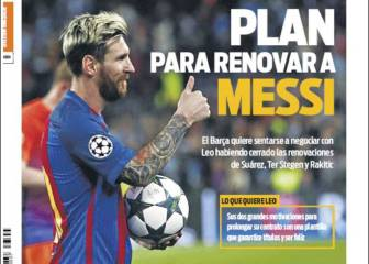 Sport: Messi irá detrás de Suárez pero antes que Iniesta