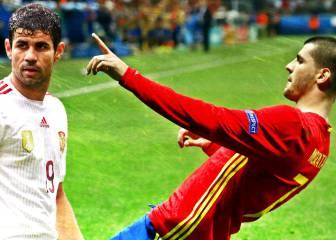 Costa vs Morata: la pelea por ser el '9' está en su mejor momento