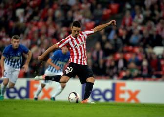 Aduriz ya es el máximo goleador europeo del Athletic