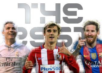 Los 23 elegidos al 'The Best', premio al mejor jugador FIFA