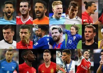 Los 23 candidatos al The Best: no está Benzema y hay 10 de LaLiga