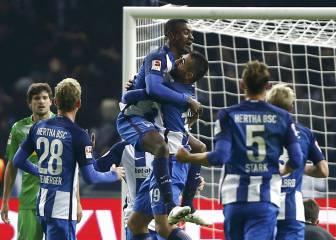 El Hertha confirma su estado de gracia con un triplete de Kalou