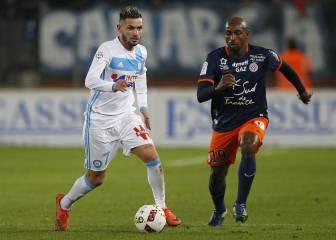 El Montpellier bate al Marsella y se aleja del descenso
