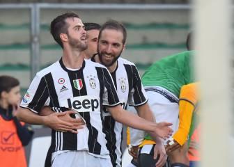 Pjanic salva a la Juve y Suso hace que el Milan siga soñando