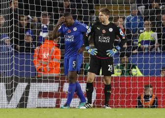 El Leicester pierde y se acerca a los puestos de descenso