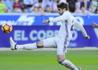 Morata, titular en la delantera junto a Cristiano y Bale