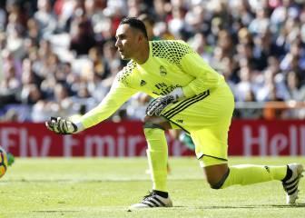 El Real Madrid deja la portería a cero diez partidos después