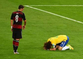 Özil desvela qué le dijo a David Luiz tras el 7-1 del Mundial 2014