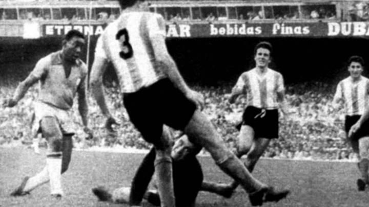 Las tres mayores goleadas que le ha hecho Brasil a Argentina