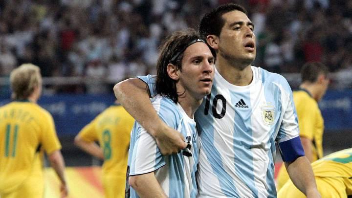 """Riquelme: """"Si no está Messi, se come cuatro contra Brasil allá"""""""