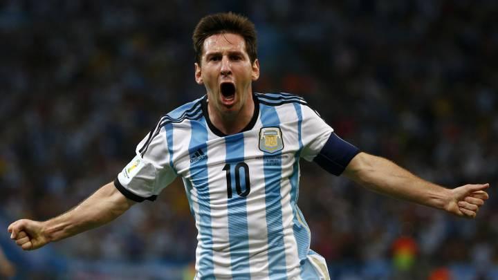 Lionel Messi: todos sus goles con la selección argentina