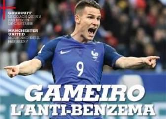 France Football saca pecho con Gameiro: