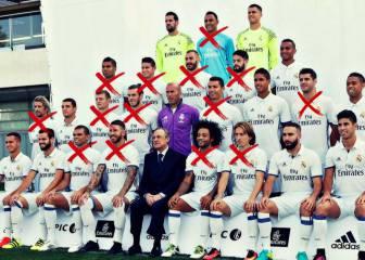 El Real Madrid ya ha perdido a 14 jugadores por lesión este curso