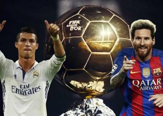 Cristiano y Messi: estos son sus apoyos para el Balón de Oro