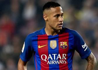 Neymar lleva marcados siete goles menos que el año pasado