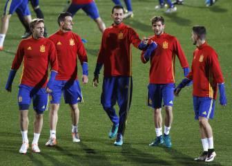 Costa no se entrena; peligra su participación ante Macedonia