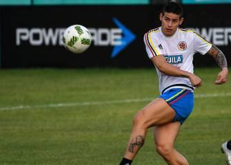 James y Falcao ilusionan a Colombia frente a Chile
