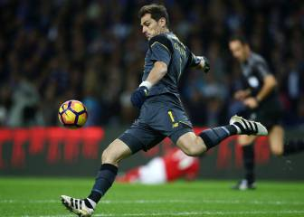 Casillas se gana el respeto de la plantilla del Oporto