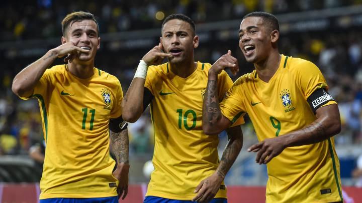 Mucho Neymar para poco Messi