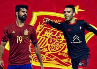 Costa deja la Selección por lesión; le sustituye Iago Aspas