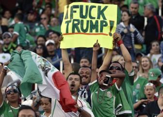 Estados Unidos recibe a México en plena apoteosis de Trump