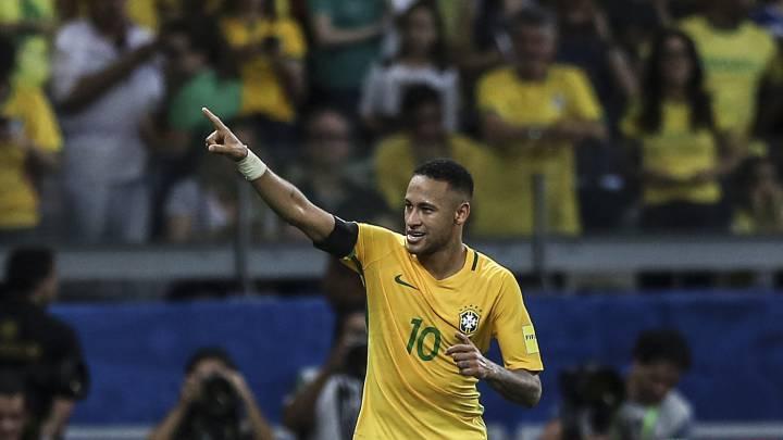 1x1 de Brasil: Neymar fue el rey en la fiesta del Superclásico
