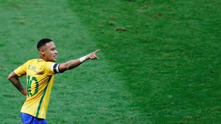Así jugó Neymar: líder, bailó a Argentina y quitó foco a Messi