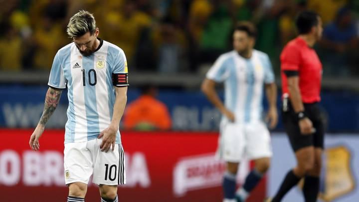 1x1 de Argentina: mala noche de Messi que no pudo brillar