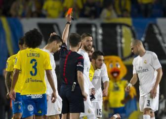 Borbalán, árbitro del derbi, ha expulsado a ocho madridistas