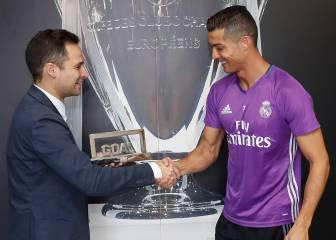Cristiano, mejor jugador del mundo 2015-16 para Goal