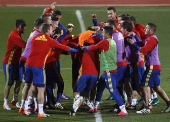 España se entrena en Granada