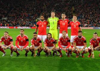 Wales strike a new pose