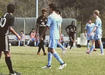 Raúl dynasty continues: son Hugo with New York City's U14