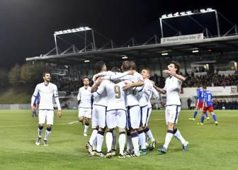 Italia olvida las bajas con una goleada ante Lietchtenstein