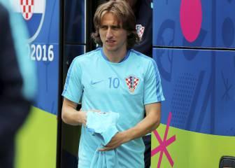 El Madrid teme que Modric salga de inicio con Croacia
