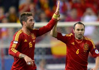 Ramos cita a Iniesta al Clásico del 3-D y Piqué se apunta