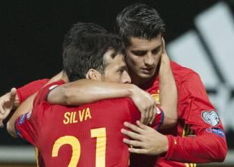 Thiago takes Iniesta's place, Morata starts up front