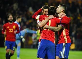 Aduriz, el goleador más veterano de la Selección española