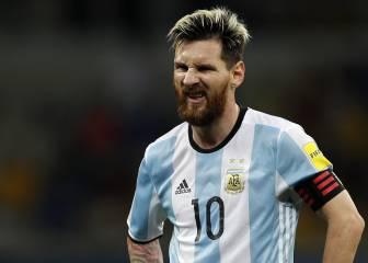 Messi se descompuso en el avión a San Juan y preocupó a todos