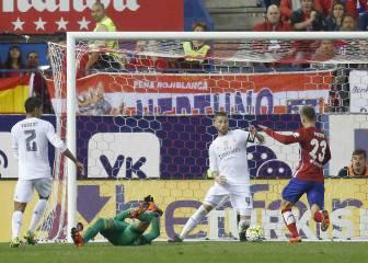 Zidane podrá a alinear su defensa titular ante el Atlético
