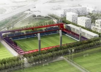 El Barça avanza en la construcción del Mini Estadi