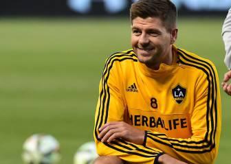 Steven Gerrard dice adiós a LA Galaxy, pero no se retira