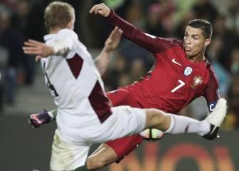 Cristiano Ronaldo brilla antes del derbi con su gol de volea