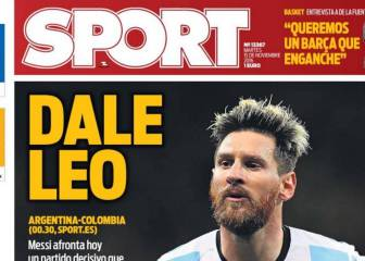 Lionel Messi manda en las portadas de Barcelona