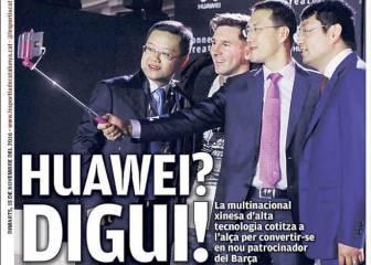 L'Esportiu: Huawei gana enteros para ser el patrocinador