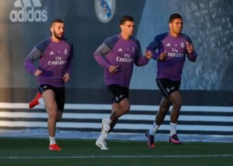 Bale y Kovacic, ausentes; Pepe, Benzema y Casemiro, al margen
