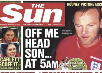 The Sun filtra las fotos de la boda en la que se coló Rooney