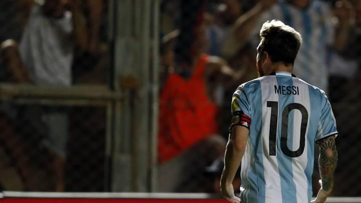 Leo Messi, el gran protagonista de la victoria de Argentina por 3-0 ante Colombia.